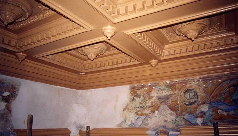 Soffitto In Legno Finto : Soffitto in finto legno eric moret